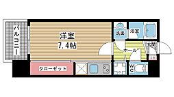 アーデンタワー神戸元町[405号室]の間取り