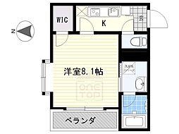 愛知県名古屋市千種区姫池通2丁目の賃貸マンションの間取り
