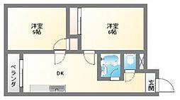 EPO南堀江ビル[3階]の間取り