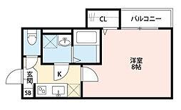 埼玉県さいたま市大宮区大成町1丁目の賃貸アパートの間取り