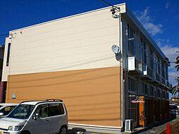 埼玉県三郷市戸ヶ崎の賃貸アパートの外観