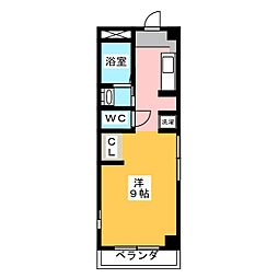 愛知県名古屋市千種区日和町4の賃貸マンションの間取り