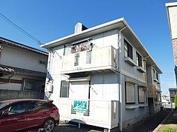 兵庫県明石市魚住町錦が丘1丁目の賃貸アパートの外観