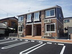 新潟県新潟市中央区姥ケ山2丁目の賃貸アパートの外観