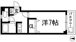 中央日進ビル[3階]の間取り
