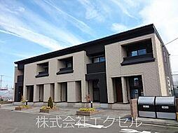 東京都日野市西平山1丁目の賃貸アパートの外観