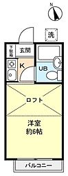 グレース習志野台[2階]の間取り
