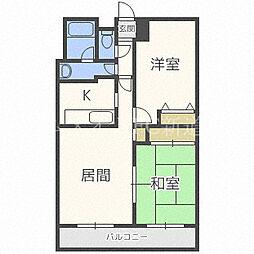 プレジデント32[3階]の間取り