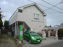 兵庫県加古川市野口町二屋の賃貸アパートの外観