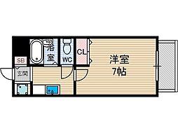 セシルコート[2階]の間取り
