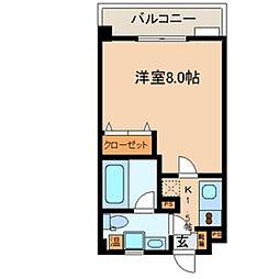 Ritz小阪[202号室号室]の間取り