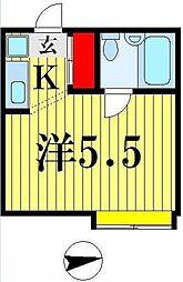 パブリック24[1階]の間取り