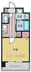 Luxe新大阪III[704号室号室]の間取り