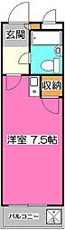 煉瓦館6[2階]の間取り