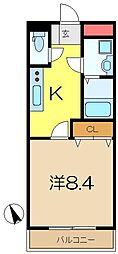Poinsettia[2階]の間取り
