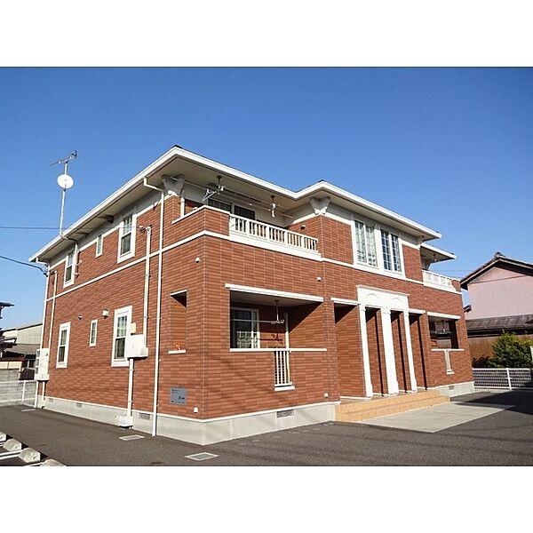 長野県長野市篠ノ井小森の賃貸アパートの外観