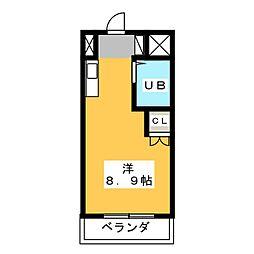 磐田グレイス第1マンション[3階]の間取り