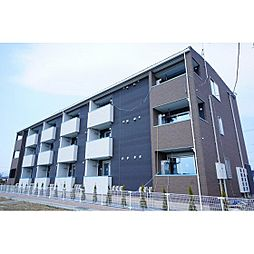 福島県郡山市田村町徳定の賃貸アパートの外観
