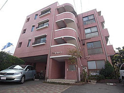 福岡県福岡市早良区西新2丁目の賃貸マンションの外観