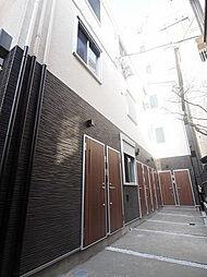 東京都文京区湯島2丁目の賃貸アパートの外観