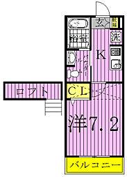 〜オリエンス〜Oricns[2階]の間取り