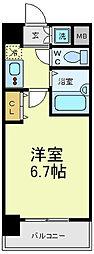 シグネット阿倍野[1階]の間取り