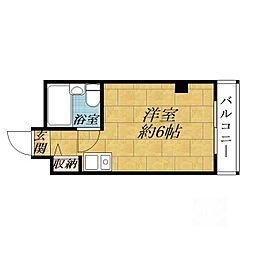 プレアール吹田泉町II[3階]の間取り
