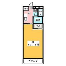 秀和ビル[4階]の間取り