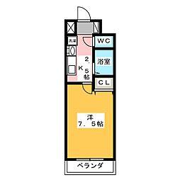 T's Dream栄[10階]の間取り