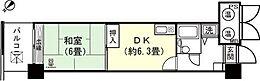 和室6畳 LDK約6.3畳