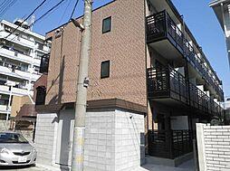 埼玉県川口市栄町1の賃貸マンションの外観