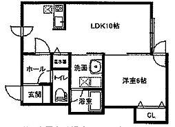マイスター渋谷マンション[2階]の間取り