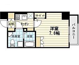 アドバンス西梅田4エール[2階]の間取り
