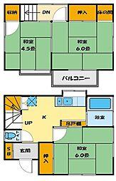 [一戸建] 埼玉県川越市広栄町 の賃貸【/】の間取り