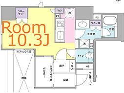 神奈川県横浜市中区太田町3丁目の賃貸マンションの間取り