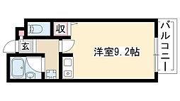 愛知県名古屋市昭和区妙見町の賃貸マンションの間取り
