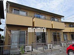 静岡県藤枝市郡1の賃貸アパートの外観