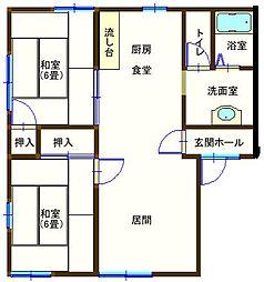 ラフォーレ大前5 103号室[1階]の間取り