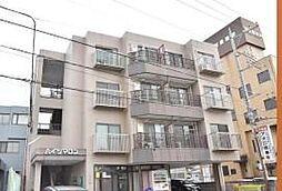 栃木県宇都宮市簗瀬4丁目の賃貸マンションの外観