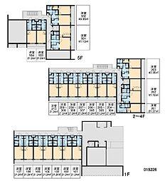 RX中野坂上[1階]の間取り
