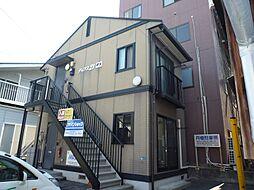 長野県諏訪市大手1丁目の賃貸アパートの外観