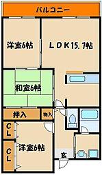セーブルコート[2階]の間取り