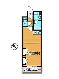 グランシャリオ町田[2階]の間取り
