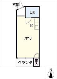 レジデンス入場PartII[2階]の間取り