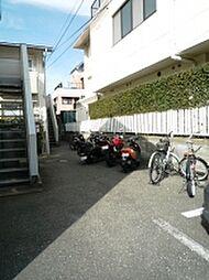福岡県福岡市中央区地行2丁目の賃貸アパートの外観