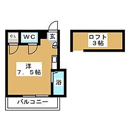 セラーヴィ箱崎宮前[1階]の間取り