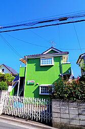 東京都東久留米市金山町1丁目の賃貸アパートの外観