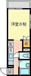 ファミーユ六浦[2階]の間取り
