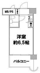 ライオンズステーションプラザ磯子[9階]の間取り
