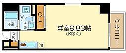 シーズアパートメント中之島[4階]の間取り